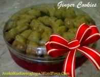 Jual Kue Kering Lebaran Ginger Cookies
