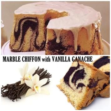 MARBLE CHIFFON with VANILA GANACHE