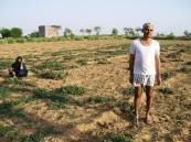 Itinerant farmer in Aligarh