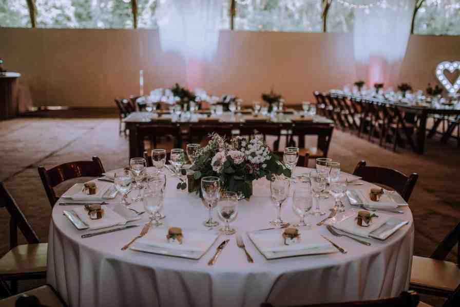 Wedding reception table design | Anela Benavides Photography