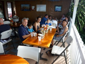multigenerational travel on the big island of hawaii at the coffee shack