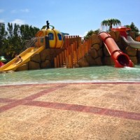 Awesome Waterpark for Young Kids in the Mayan Riviera