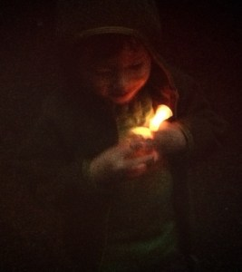 Bring glow sticks for camping with kids at Alice Lake