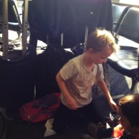 Photo Friday: Why Carry-on Suitcases are a good idea with kids in tow