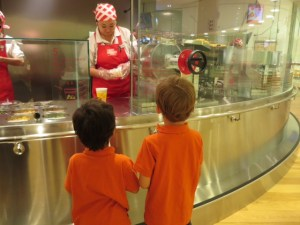 Japan with kids Cup Noodles Museum in Yokohama