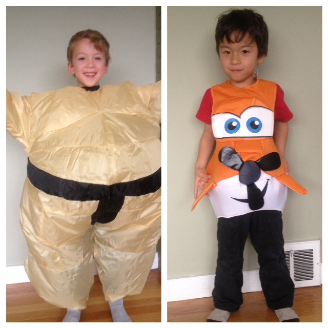 Sumo costume for kids