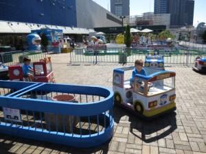 rooftop playground tokyo at keio sky garden