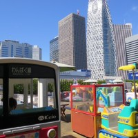 If your kids love coin operated rides(Ueno zoo and Keio mall, Tokyo)