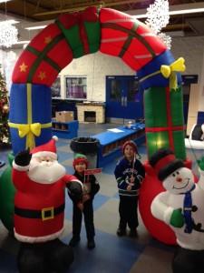 christmas ice skating party minoru ice rink