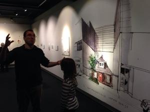 drawn to seattle exhibit