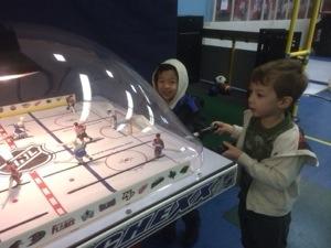 canucks vs. hawks at bc sports hall of fame