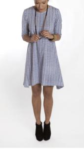 seattle's spun cotton dress