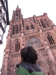 strasbourg France with kids in the Spring