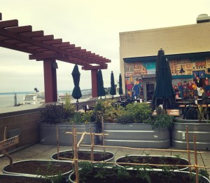urban garden in pike place market