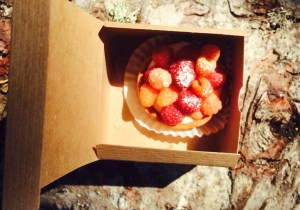 Coyle's bakeshop berry tart
