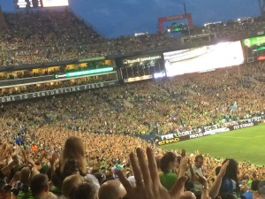 sounders games