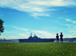 seafair ship parade
