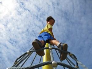 playground in Coquitlam during a northwest summer 2014