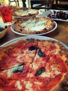 Tutta Bella pizza with the family