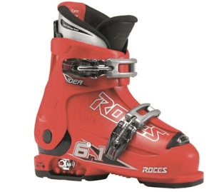 roces idea adjustable ski boot for kids