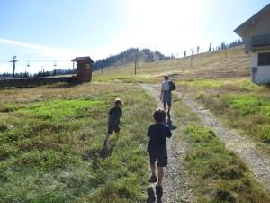 hiking near Snoqualmie Pass