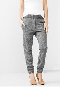 marled gap pants