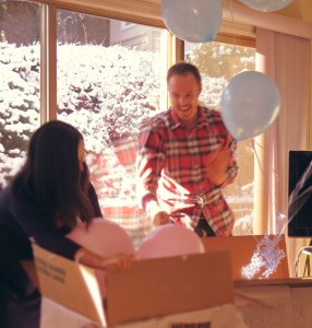 baby reveal for twins