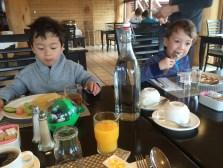 breakfast at hotel ranga