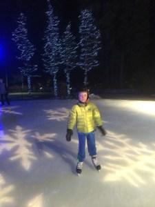 ice skating in whistler