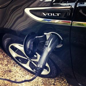 plugging in my car