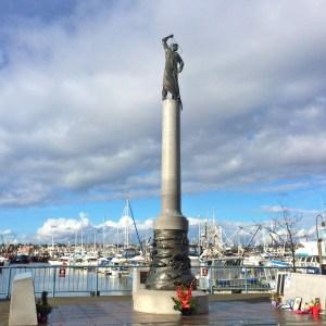 memorial at Fisherman's Terminal