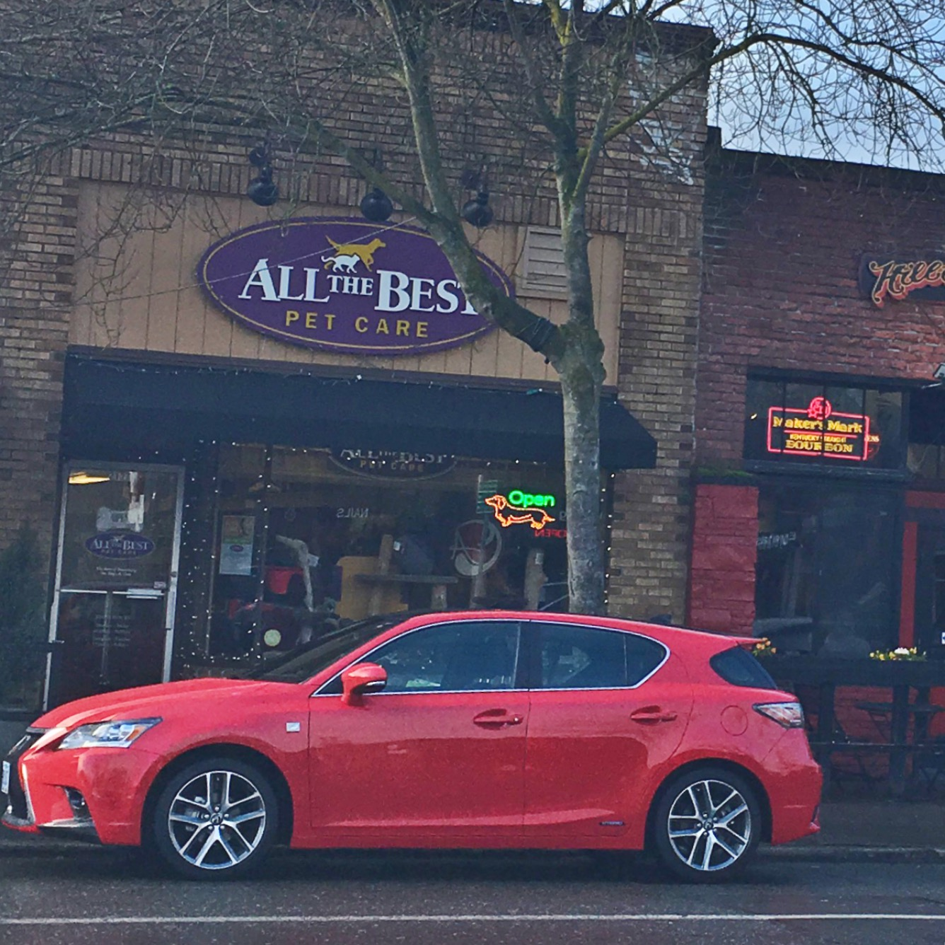 a mom's review of the lexus ct fsport in seattle