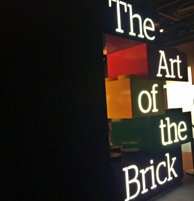 Art of the Brick at the Pacific Science Center in SEattle