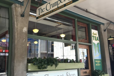 Crumpet shop in pike place market
