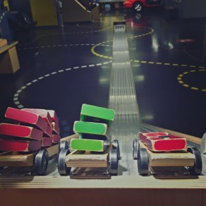 Le May Car Museum has a fun kids' area