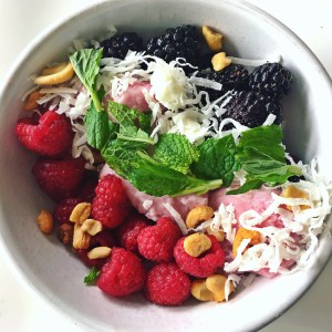 Arctic zero smoothie bowl