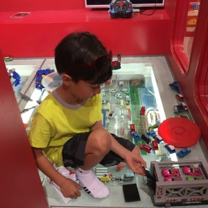 Play area in Tomica Shop