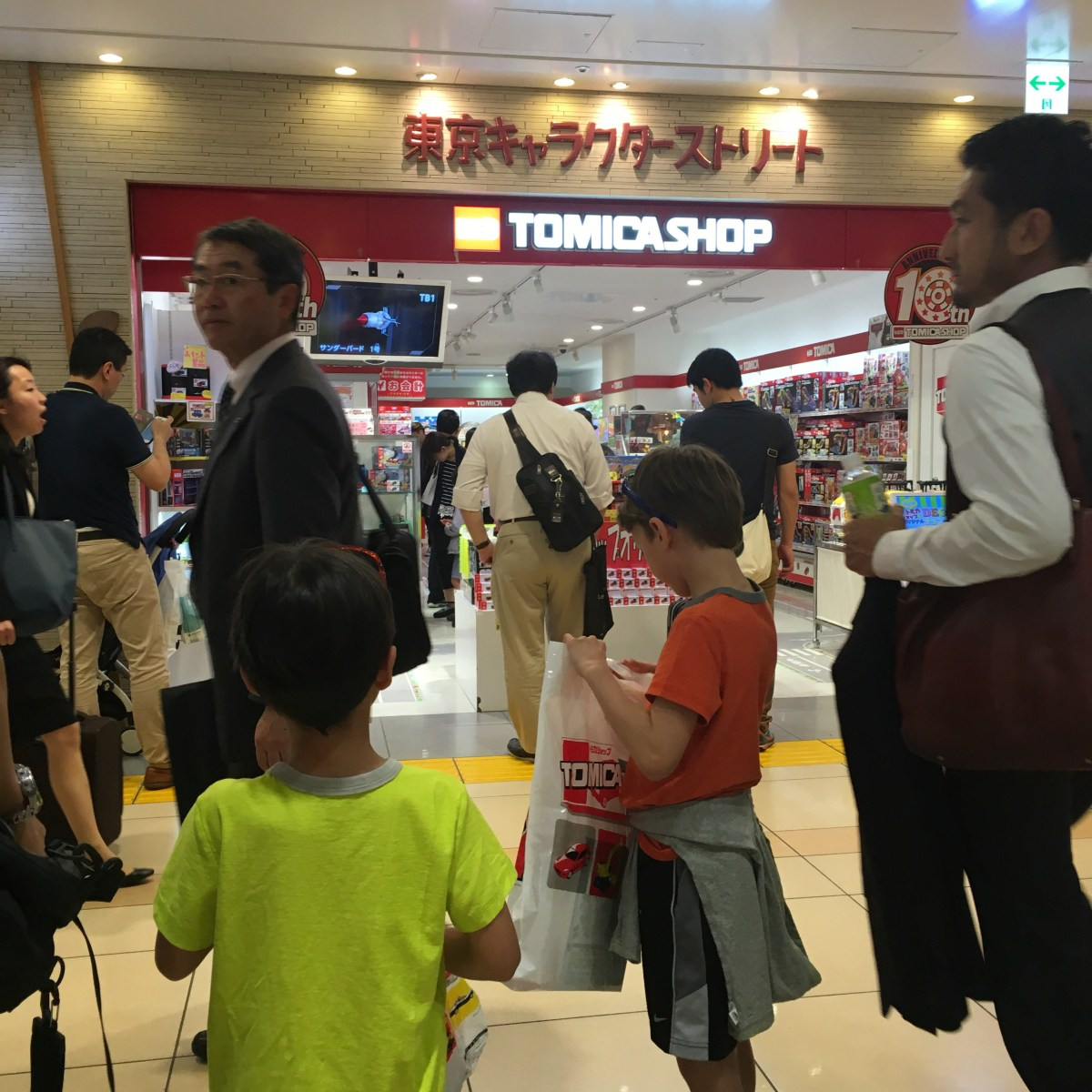 Build your Own Tomica Cars in Tokyo Japan, a perfect stop for families on a trip to Japan