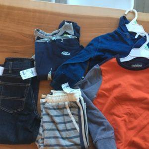 Back to School shopping at Osh Kosh