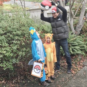 Pokémon family costume