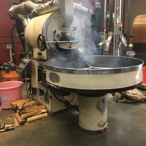 Woodfired Coffee Roasting at Caffe D'arte