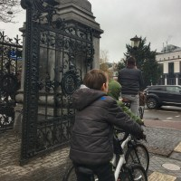 Bike riding in Amsterdam with kids at the Vondelpark