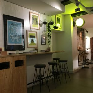 Dogma Hotdogs interior cute cafe