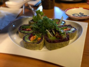 A family friendly restaurant in Squamish-imperial rice at Sushi sen