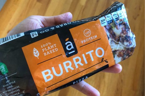 Plant-based Alpha Burrito is a vegan food you can quickly make at home