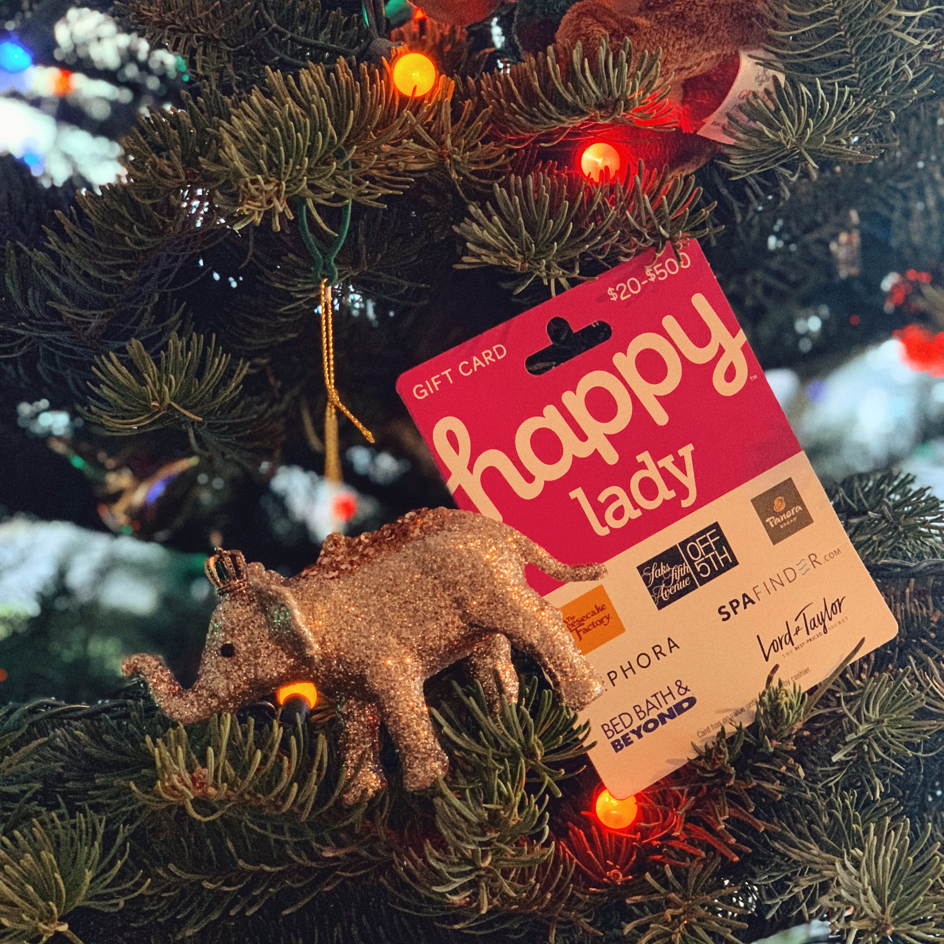 Happy Lady Happy Card Review-trying out the gift card at Cheesecake Factory Seattle and
