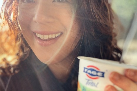 celebrating less is more in 2019 with FAGE Total Split Cups with 30% less sugar