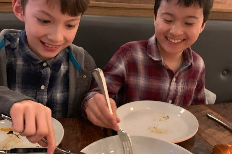 eating out with kids in Ballard Seattle at Gather Kitchen and Bar