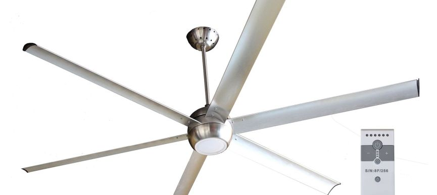 Airlux ceiling fan with light