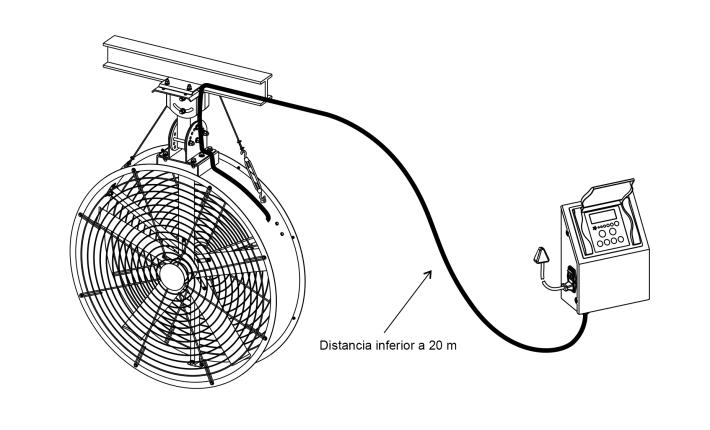 ventilador de tambor
